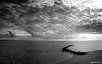 Pics Photos   Landscape Black And White Nature Wallpaper