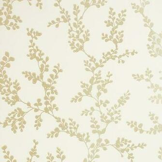 Shadow Fern Wallpaper Ivory GPBaker Crayford Wallpaper collection