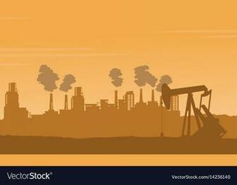Background bad environement pollution industry Vector Image