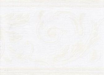 Cream White Emoded Molding Wallpaper Border   Victorian Vintage