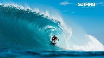 Surfing in Teahupoo Tahiti Wallpapers HD Wallpapers