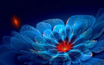 Wallpapers Of The Day Fantastic Neon Flowers 1920x1200 Fantastic