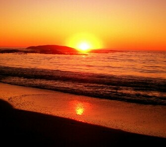 Beach Sunset Background 1800x1600