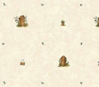 Outhouse Spot Wallpaper   Rustic Country Primitive
