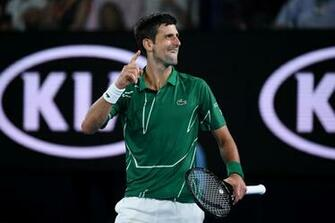 Novak Djokovic admits he is not as natural as Roger Federer