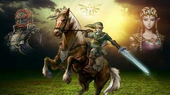 The Legend Of Zelda Twilight Princess Wallpaper by