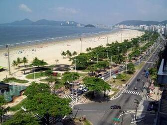 Santos the longest beach garden in the world   Places to Visit Brazil