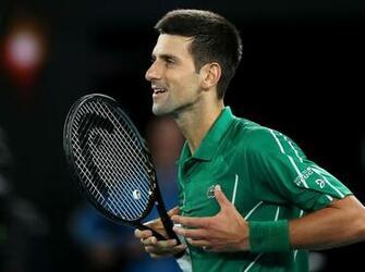 Australian Open 2020 Novak Djokovic makes stuttering start but