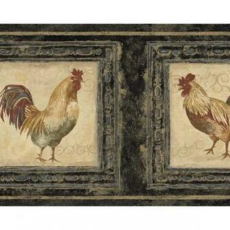 of 2 items Search Results for rooster wallpaper border