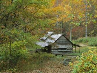 Park photo Homestead Cabin Smoky Mountains National Park wallpaper