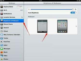 How to Change the Lock Screen and Wallpaper for iPad iPad Wallpaper