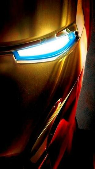 Iron Man Face iPhone 5 Wallpaper 640x1136