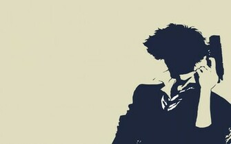 cowboy bebop spike spiegel simple background HD Wallpaper of Anime