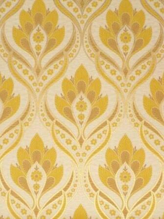 Retro baroque wallpaper with gold details   Vintage Wallpapers