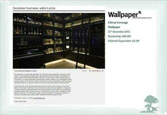 December 2012 The Whisky Shop on Wallpaper Wallpaper magazine