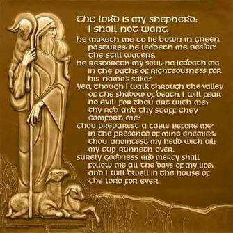 Psalm 23 Art 23rd psalm