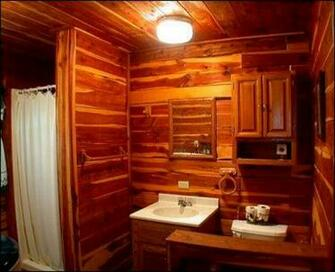 Bathroom Wall Bathroom Wallpaper Cabin Cabin Bathroom Wallpaper