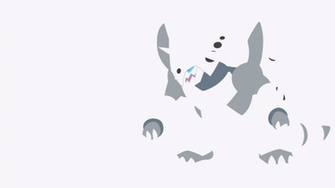 Mega Aggron Minimalist Wallpaper by BrulesCorrupted on