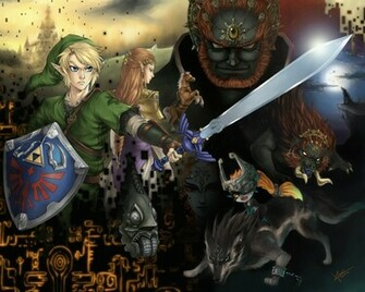 Link Twilight Princess Wallpaper Twilight princess by kiwi san