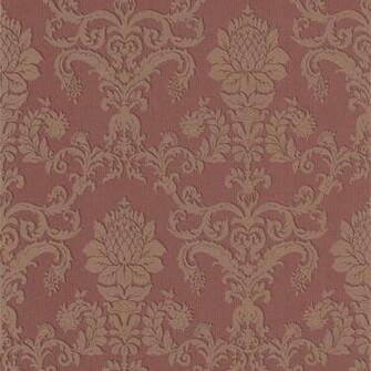 298 30360 Burgundy Damask   Louis Philippe   Beacon House Wallpaper