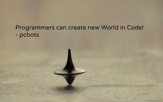 Programmers can create new world in code HD Programmers Wallpaper