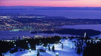 Vancouver Christmas HD Wallpaper Background Images