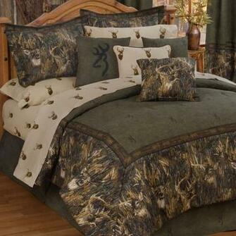 BrowningR Whitetails Deer Camo Comforter Bedding