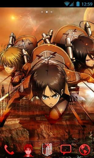 Attack On Titan Iphone Wallpaper Best attack titan mikasa theme