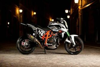 Rok Bagoros New KTM 690 Duke Stunt Bike