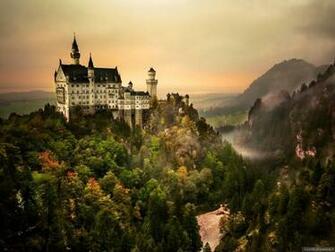 German tour Neuschwanstein castle wallpaper