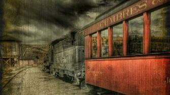 Vintage train wallpaper 5054