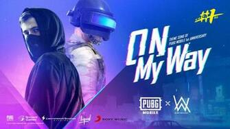 Alan Walker on Twitter Happy birthday PUBGMOBILE Our