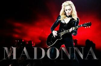 Madonna FanMade Covers The MDNA Tour   Wallpaper