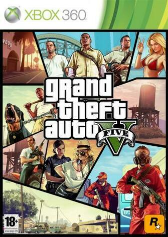 gta 5 coverOfficial GTA 5 Artwork Game X Geek UBOU6ZCc