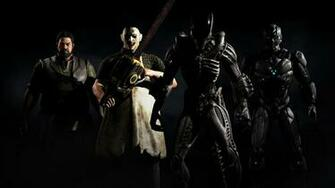 Mkx Tri Borg Alien Xenomorph Leatherface And Bo Rai Cho Hd