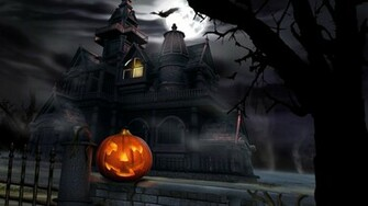 Best 3D Halloween Horror Wallpaper Full HD Wallpaper with 1600x900