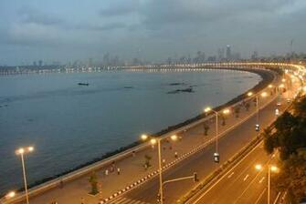 Road View Marine Drive Mumbai Wallpaper 28329   Baltana