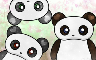 Download Kawaii Panda Desu Wallpaper for my bestie by Kosmic Rainbow