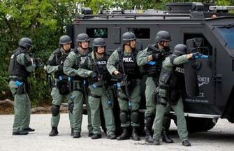 Police Swat Team By fort worth swat team