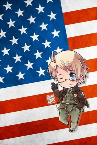 Hetalia iWallpapers   America by Dreamweaver38