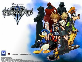 Home Wallpaper Kingdom Hearts 2 Kingdom Hearts 2