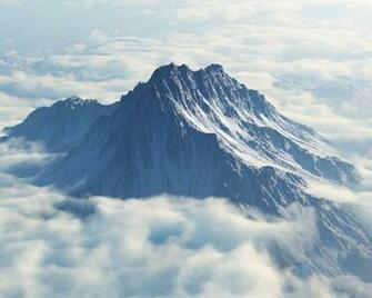 1280x1024 Mount Olympus Aerial View desktop PC and Mac wallpaper