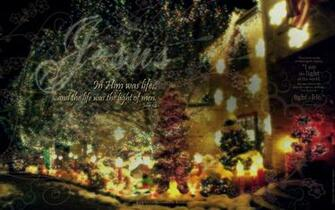 christmas light wallpaper computer christian 1920x1200
