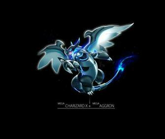 Charizard X Aggron Pokemon fusion Pinterest
