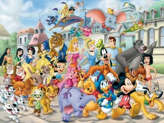 wallpapers wallpaper download many disney characters disney