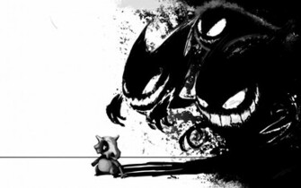 Stalking Cubone Wallpapers Gengar Stalking Cubone Myspace Backgrounds