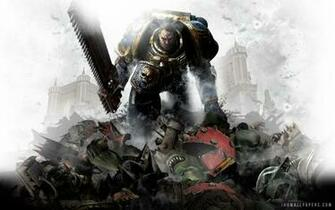 Warhammer 40000 Space Marine HD Wallpaper   iHD Wallpapers
