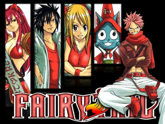 FAIRY TAIL Wallpaper by TigerCubby