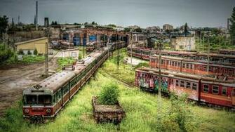 Cemetery of old trains wallpapers and images   wallpapers pictures