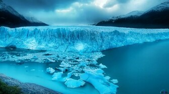 Wallpaper A giant glacier 1920 x 1080 HDTV 1080p Desktop wallpapers